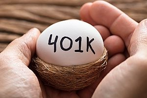 an egg that says 401k on it to represent safe harbor plans